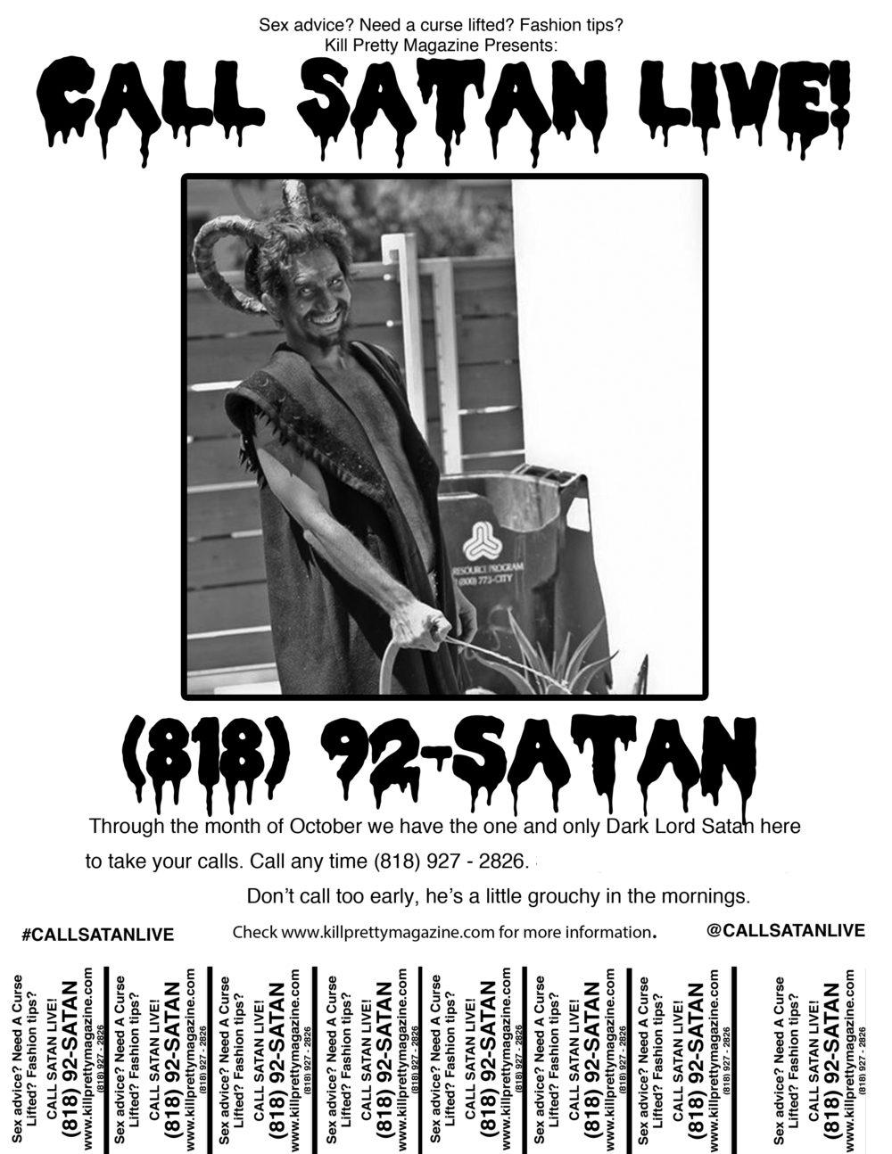 Call Satan Live